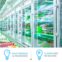 Load image into Gallery viewer, T8 4ft V-Shape led freezer/ cooler tube; 18W; 5000K clear