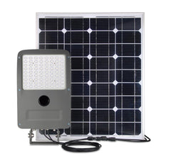 LED Solar Batten Light Set ; 12W with 30W Solar Panel ; 6000K