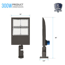 Load image into Gallery viewer, LED Pole Light With Photocell