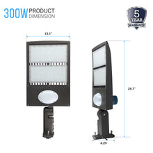 Load image into Gallery viewer, Commercial Parking Lot Lights With Photocell