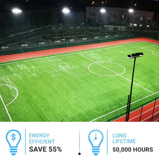 450W LED Flood Light Application stadium