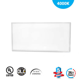 LED Panel 2X4 50W 4000K Dimmable 1pc