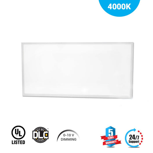 2X4 50W 4000K Dimmable LED flat Panel light for office by LEDMyPlace Canada
