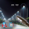 Bright area lighting with LED Pole Light/ Street Light 150W Bronze Adjustable Mount by LEDMyPlace Canada