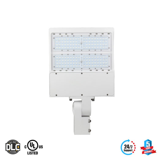 LED Pole Light/ Street Light 150W White Adjustable Mount by LEDMyPlace Canada