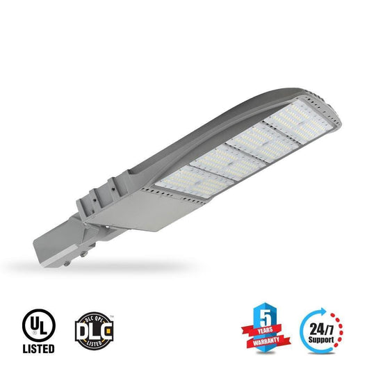 LED Pole Light/ Shoebox Street Light 300W Silver Adjustable Mount/ Slip-fitter by LEDMyPlace Canada