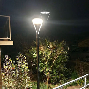 LED Post-Top / Garden Light 75 Watts ; AC100-277V ; Bronze