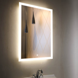 LED Lighted Bathroom Mirror, 24