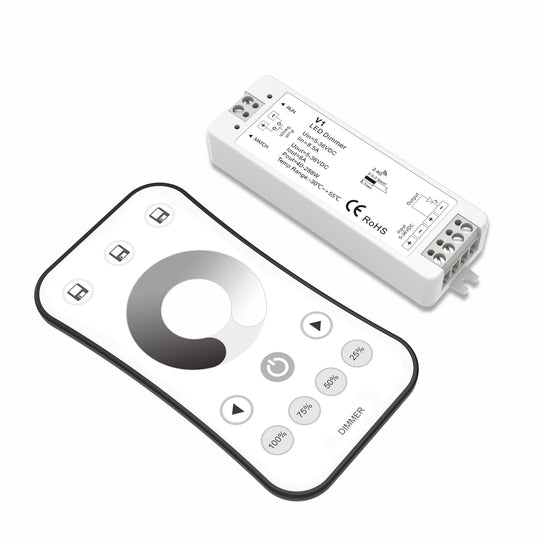 Single Color Wireless Dimming Remote Control Set