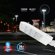Load image into Gallery viewer, Bright streets with LED Pole Light/ Shoebox Street Light 300W White Adjustable Mount/ Slip-fitter by LEDMyPlace Canada