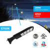 Bright streets with LED Pole Light/ Shoebox/ Street Light 300W Black Direct Mount by LEDMyPlace Canada