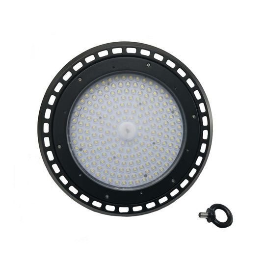 LED UFO High Bay 150W 5700K PMMA lens warehouse light by LEDMyPlace Canada