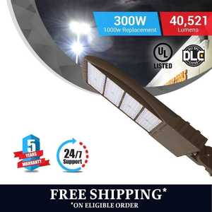 Free shipping on LED shoebox street light/ pole light 300W Adjustable Mount Bronze by LEDMyPlace Canada