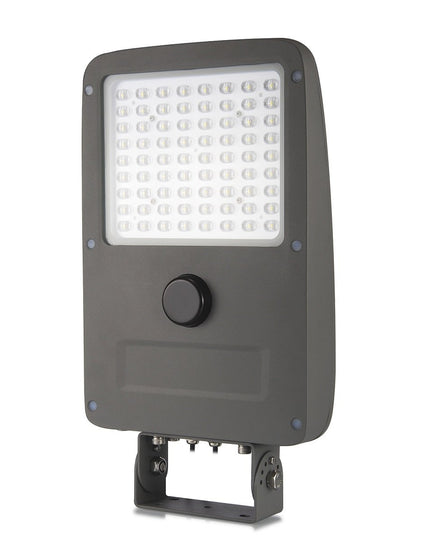 LED Solar Flood Light Set ; 15W w/ 40W Solar Panel ; 6000K - LEDMyplace