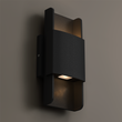 Load image into Gallery viewer, Modern LED Wall Sconce Lighting Fixture, 11W, 3000K, Dimmable, Body Finish Matte Black / Sand White