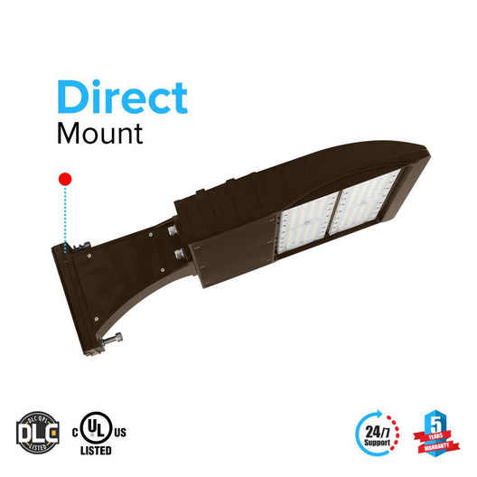 LED Pole Light/ Street Light 150W Bronze Direct Mount by LEDMyPlace Canada