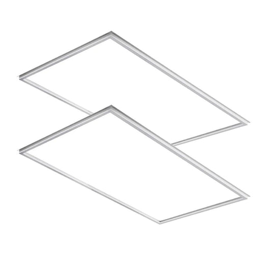 2x4ft LED T-Bar Panel Light Fixture, 55W, 5000K, White, 6600LM, 200 Watt equivalent