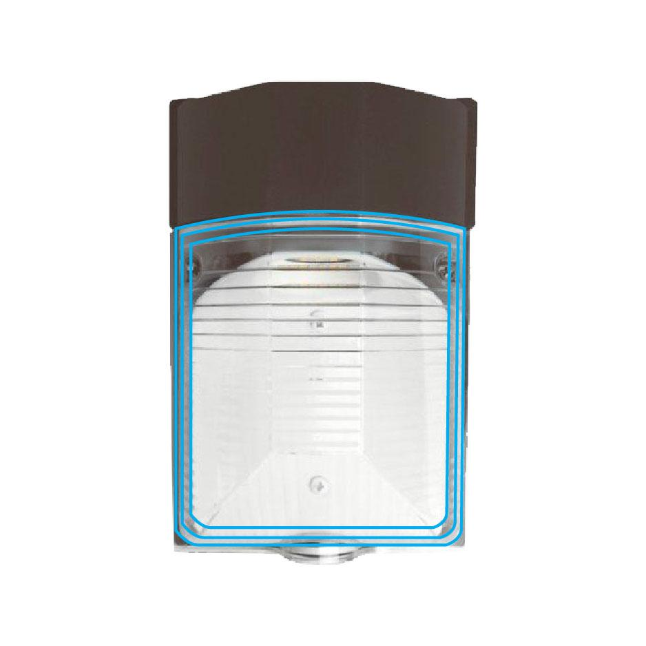 Outdoor LED Mini Wall Pack