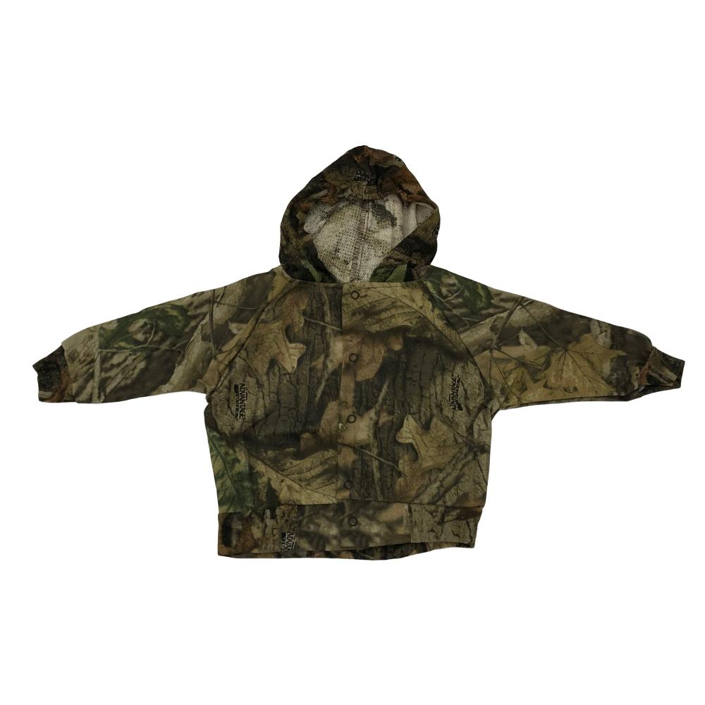 Baby Hooded Camo Bomber Jacket - Small - Medium
