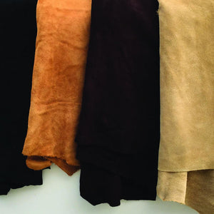 Large Suede Side Split 3 oz Cowhide Leather Hides - Leather Unlimited