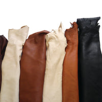 Large Soft Full Grain Elk Leather Hides - 18-22 Square Feet - 4-5 oz