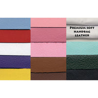 Premium Soft Colorful Handbag Leather Hides - 22-26 Square Feet - 3 oz Cowhide