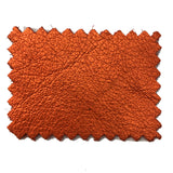 Premium Soft Metallic Handbag Leather Hides - 20-25 Square Feet - 3 oz Cowhide