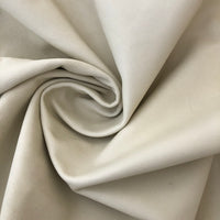 White Upholstery Full Leather Hides - Large - Extra Large