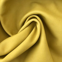Yellow Upholstery Full Leather Hides - Large - Extra Large
