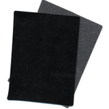 "Black Supported 3 oz Vinyl - 5 yards x 56"" - Lining Alternative for Crafts"
