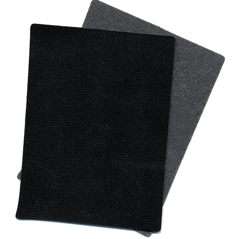 "Black Supported 3 oz Vinyl - 1 yard x 56"" - Lining Alternative for Crafts"