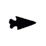 Bone Arrowheads - Native Craft Supplies - White - Black