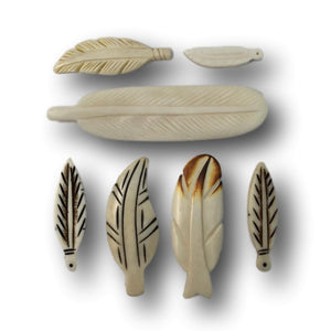 Bone Feather Accessories - Native Craft Supplies