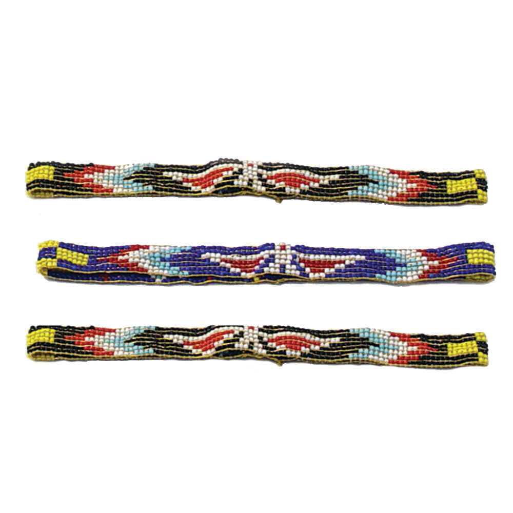 Hand Made Beaded Headbands - Native American Style Hair Accessories