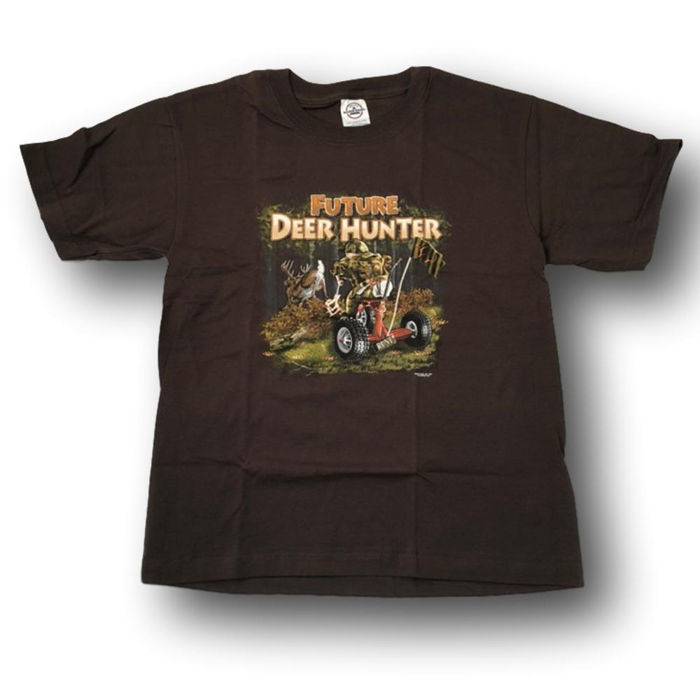 """Future Deer Hunter"" Little Hunter T-shirt - Youth L - Youth M - Youth XS"