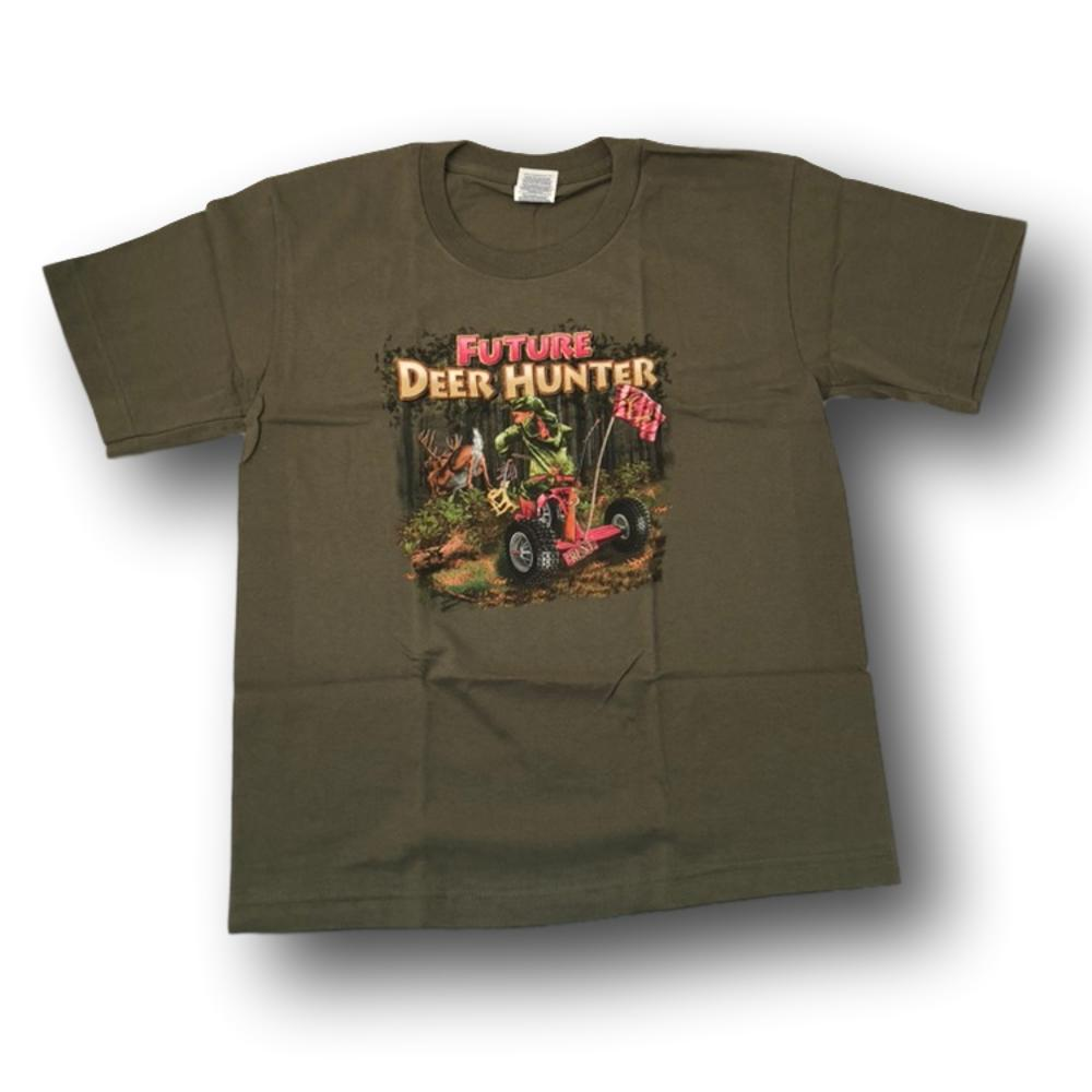 """Future Deer Hunter"" Little Hunter T-shirt for Girls - Youth L - Youth M - Youth XS"