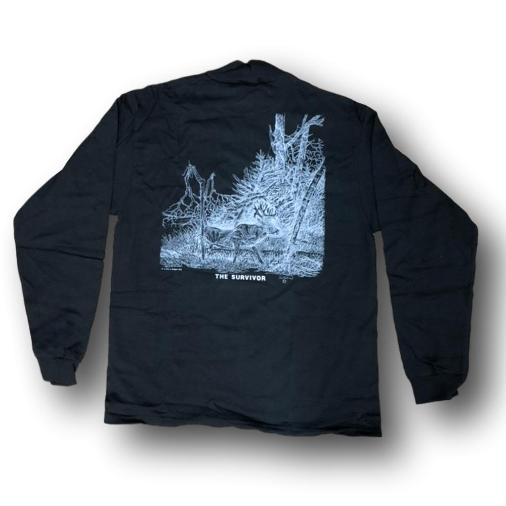 "Jim Tostrud's ""The Survivor"" Long Sleeve Mock Turtleneck"
