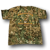 """American Buck Hunter"" Camo Tshirt - Adult L - Adult XL"