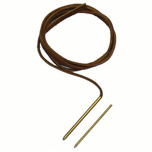 Solid Brass Perma Lock Needles for Leather Lace