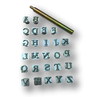 Alphabet Leather Craft Stamp Tool Sets - 3/8