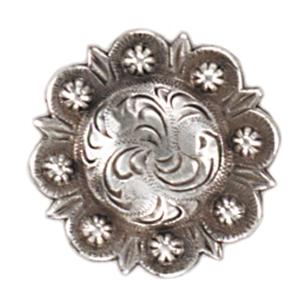 Berry Celtic Screw Back Concho - 1""