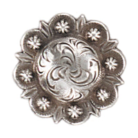 Berry Celtic Screw Back Concho - 1