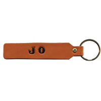 Personalize Your Own Key Chain - Leather Name Tag Kit