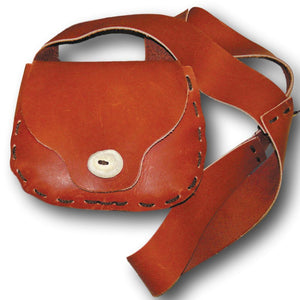 Make Your Own Leather Possible Bag Kit - DIY Rustic Cross Body Satchel