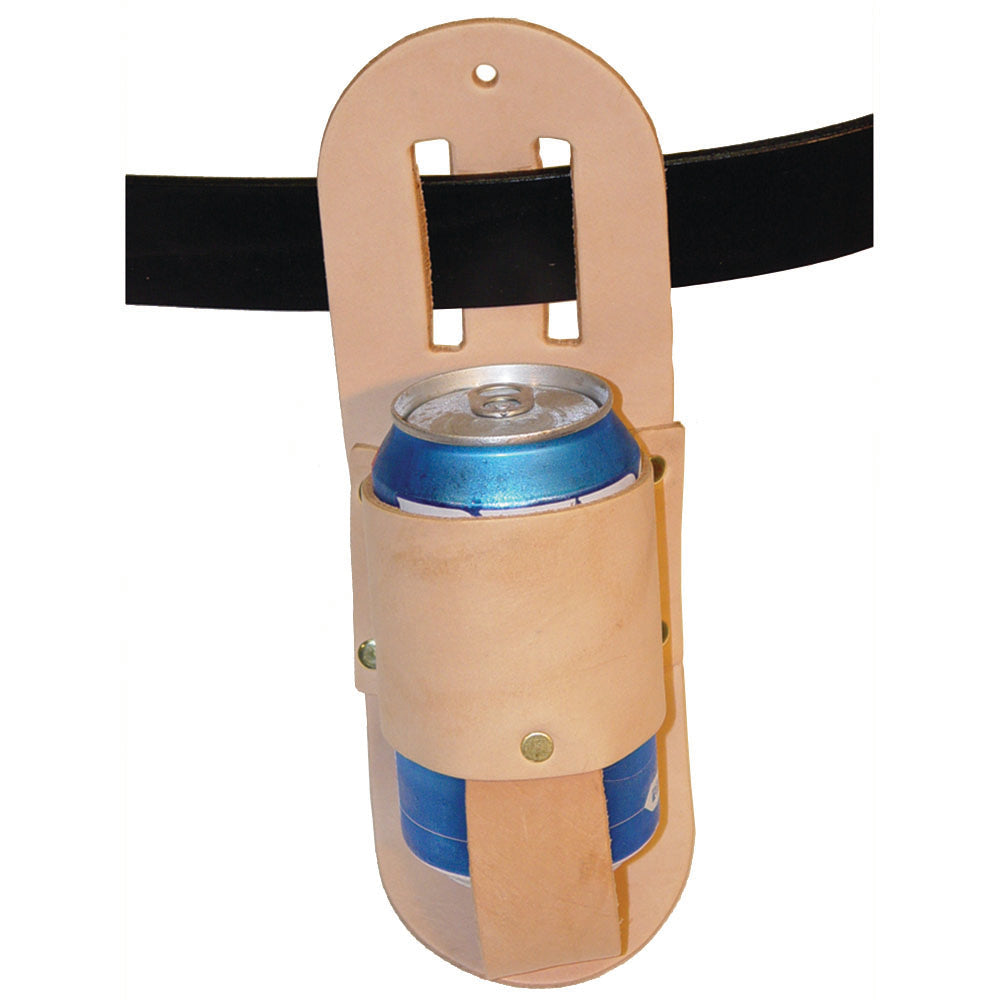 Drink Holder Leather Craft Kit - Belt Holster for Soda, Water, Pop - Make Your Own Beverage Waist Sling