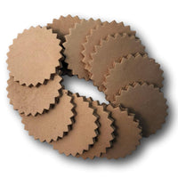 7-8 oz Oak Leather Conchos for Leather Crafts