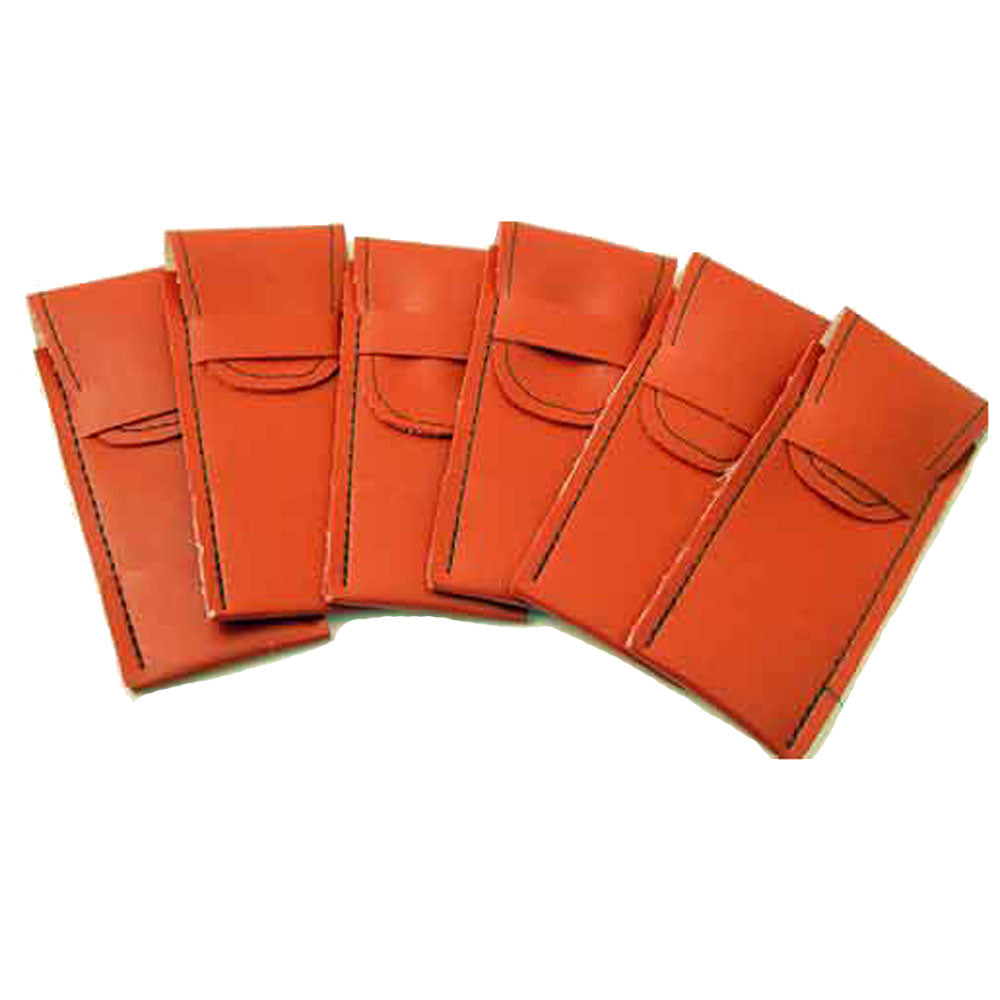 Soft Strong Red Vinyl Dart Pouches - Dart Case Holders