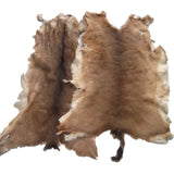 Hair On Deerskin Hide Rug - Tanned Deer Hide with Hair - Grade A - Grade B - Grade C - Large - Extra Large