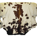 Large Hair on Hide Steer Leather Hides - Brown - Black - White - Brindle - A Grade - B Grade