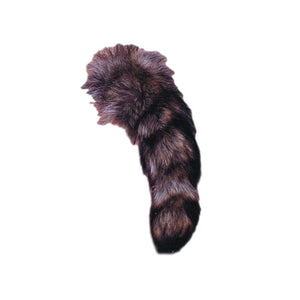 Authentic Raccoon Tails - Genuine Fur Tails for Crafts and Costumes
